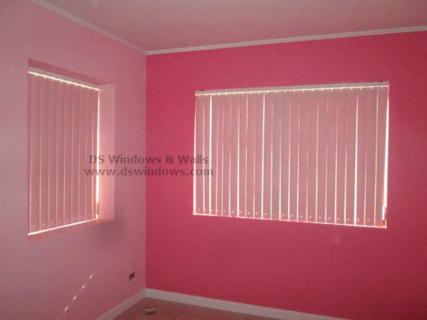 PVC Vertical Blinds installed at Ermita Manila