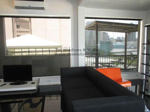 Roller Blinds fits the Interior Theme - Makati City