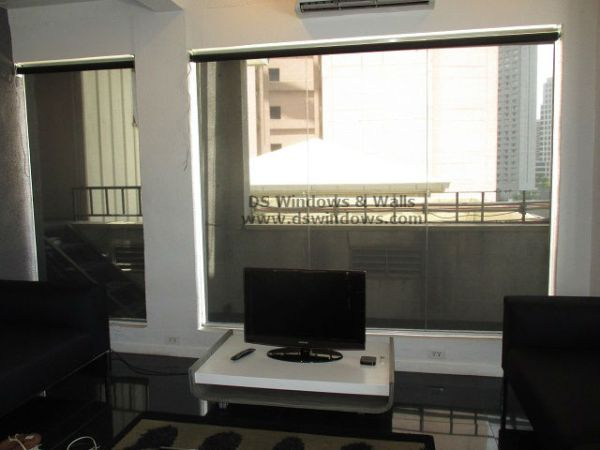 Suncsreen Roller Blinds installed at Makati City