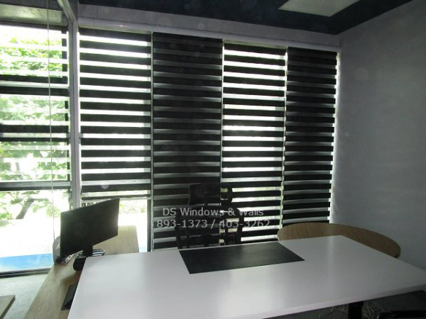 Small Office Combi Blinds Window Cover
