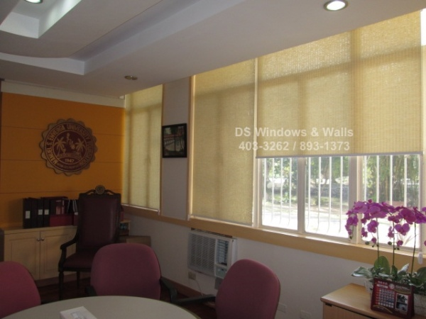 President's Office Roller Blinds