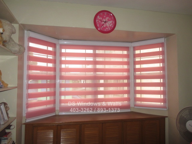 Pink Combi Blinds and Shades for Girls Room : Las Pinas Installation ...