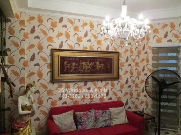 Latest 2016 Wallpaper Design with Combi Blinds