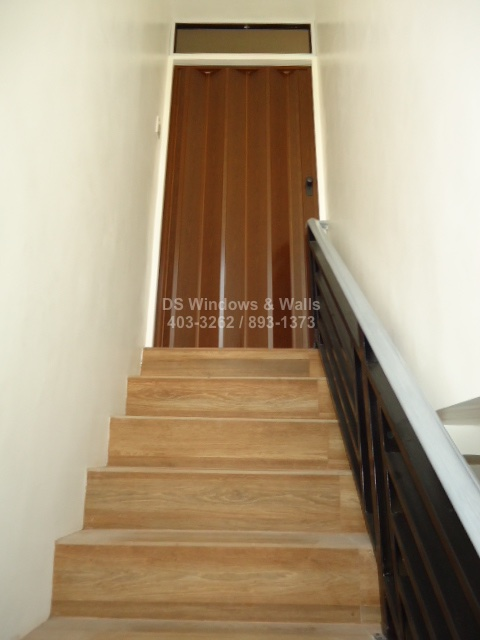 Folding Door For Tight Spaces