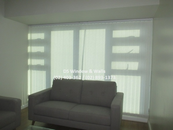Fabric Vertical Blinds sun blocking ability