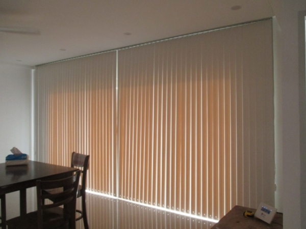PVC Vertical Blinds sun blocking ability